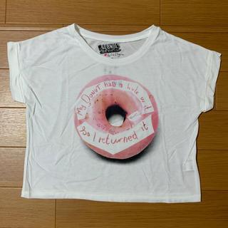 ジーユー(GU)のGU ドーナツ Tシャツ ⦅未使用⦆ Sサイズ(Tシャツ(半袖/袖なし))