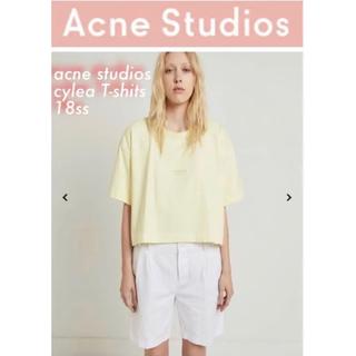 アクネ(ACNE)のacne ロゴTシャツ(Tシャツ(半袖/袖なし))
