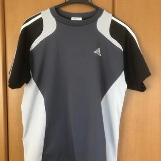 adidas - アディダス 半袖Tシャツ スポーツウェア スリーライン