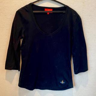 ヴィヴィアンウエストウッド(Vivienne Westwood)のVivienne Westwood RED LAVEL カットソー ブラック(カットソー(長袖/七分))