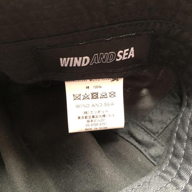SATURDAYS SURF NYC(サタデーズサーフニューヨークシティー)のWIND AND SEA バケットハット 帽子 メンズの帽子(ハット)の商品写真