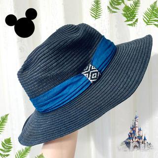Disney - メンズ ハット 東京ディズニーランド ネイビー
