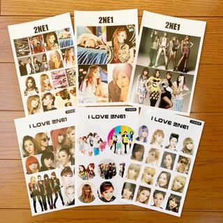 2NE1 グッズ ステッカー(アイドルグッズ)
