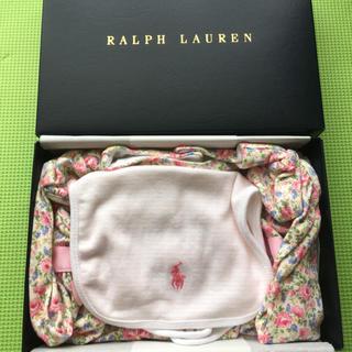 ラルフローレン(Ralph Lauren)のラルフローレン ロンパース&スタイセット 70サイズ(ロンパース)