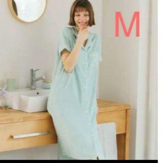 ジーユー(GU)の新品 Gu ミントパジャマ パイルパジャマワンピース(パジャマ)