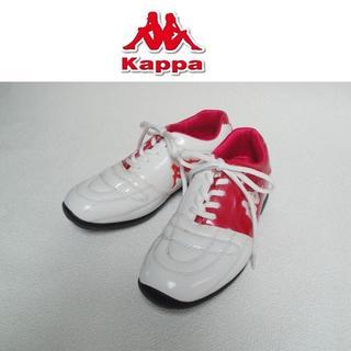 カッパ(Kappa)の【送料込】◆Kappa◆ ゴルフシューズ ピンク×ホワイト 24cm(シューズ)