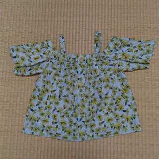 ザラ(ZARA)の半袖ブラウス ザラキッズ ZARA 140 ブルー (Tシャツ/カットソー)