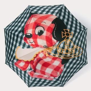 ヴィヴィアンウエストウッド(Vivienne Westwood)の2020年🌸最新作🐶ギンガムパピー 🐶長傘☂️雨傘新品ヴィヴィアンウエスト(傘)