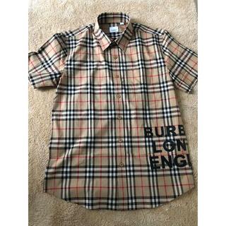 バーバリー(BURBERRY)のBurberryバーバリー ロゴ ヴィンテージチェック 半袖シャツ(シャツ)