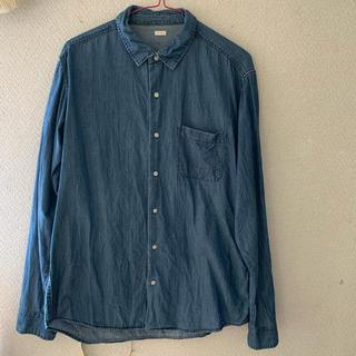 ジーユー(GU)のデニムシャツ メンズ(シャツ)