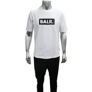 BALR ボーラー Tシャツ ホワイト Lサイズ(Tシャツ/カットソー(半袖/袖なし))