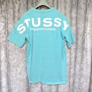 ステューシー(STUSSY)のステューシー バックプリントカットソー(Tシャツ/カットソー(半袖/袖なし))