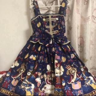 アンジェリックプリティー(Angelic Pretty)のAngelic  Pretty メリーバニージャンパースカート (ひざ丈ワンピース)