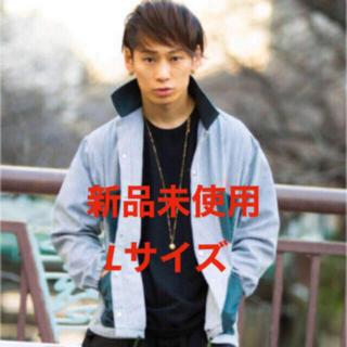 新品未使用 takuya∞ 着用 コーチジャケット シャツ グリーン Lサイズ(シャツ)