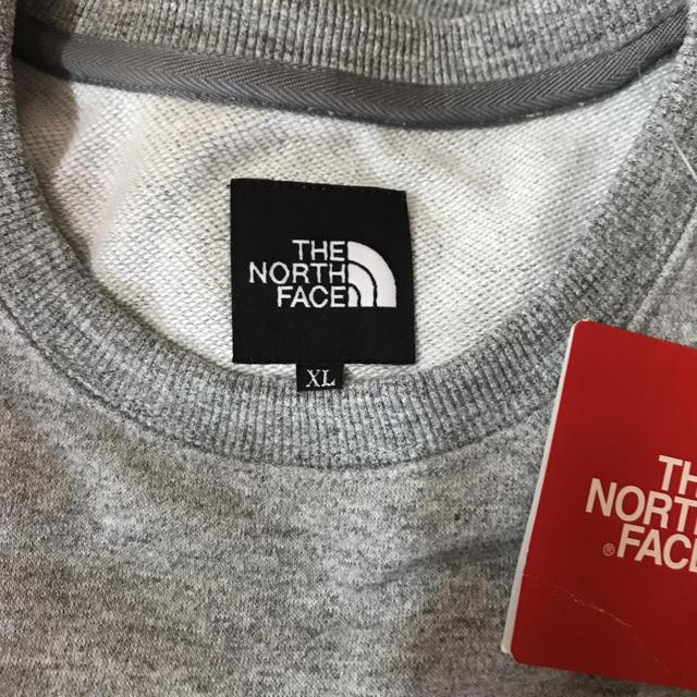 THE NORTH FACE(ザノースフェイス)の大人気 新品ザノースフェイス クルーネックスウェット XL メンズのトップス(スウェット)の商品写真