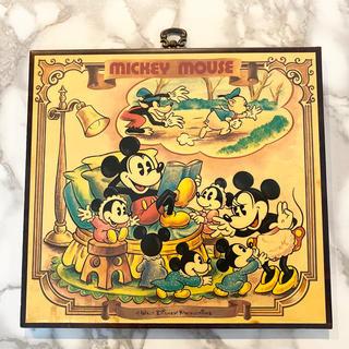 ディズニー(Disney)の【入手困難】ディズニーランド アンティーク インテリア木製パネル (その他)