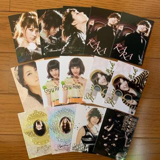 KARA グッズ カード(アイドルグッズ)