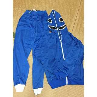 【美品】マトリョシカパーカー  ズボンセット 青色 上下 セットアップ(衣装)