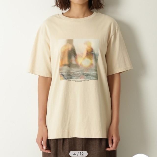 Mila Owen(ミラオーウェン)の雑誌掲載Mila Owen / ミラ オーウェンフォトプリントTシャツ二セット  レディースのトップス(Tシャツ(半袖/袖なし))の商品写真
