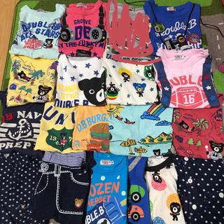 DOUBLE.B - ダブルB Tシャツ、タンク、パンツ、長袖130