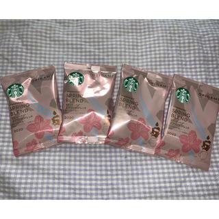 Starbucks Coffee - スターバックス スプリングブレンド ×4 オリガミ