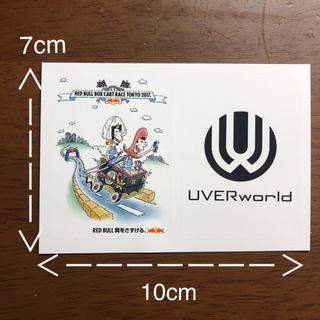 UVERworld RED BULL ステッカー(ミュージシャン)