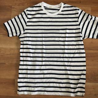 ジーユー(GU)のジーユー ボーダーT(Tシャツ/カットソー(七分/長袖))