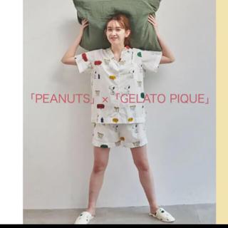 gelato pique - 【PEANUTS】シャツ&ショートパンツ