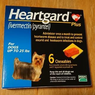 ハートガード 犬 小型 ~11㎏ フィラリア(犬)