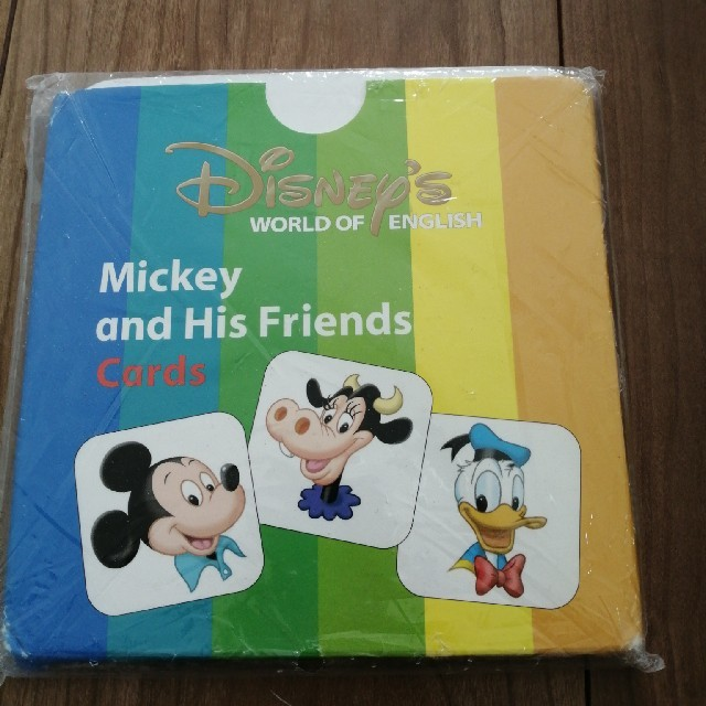 Disney(ディズニー)の新品 ディズニー英語システム カード キッズ/ベビー/マタニティのおもちゃ(知育玩具)の商品写真