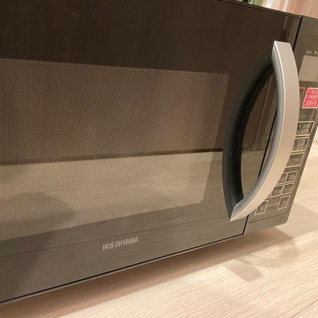アイリスオーヤマ(アイリスオーヤマ)のアイリスオーヤマ オーブンレンジ VAL-16T-B スマホ/家電/カメラの調理家電(電子レンジ)の商品写真