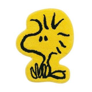 スヌーピー(SNOOPY)のウッドストック インテリア マット おすわりウッド スヌーピー SNOOPY(キャラクターグッズ)