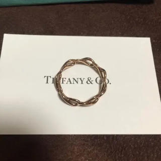 ティファニー(Tiffany & Co.)のティファニー インフィニティバンドリング ピンクゴールド(リング(指輪))