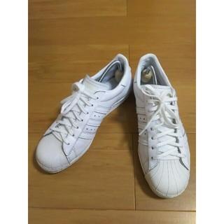 アディダス(adidas)のadidas スーパースター スニーカー サイズ26cm オールホワイト(スニーカー)