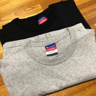 Champion - 2枚セット US限定 champion 7oz heavy weight tee
