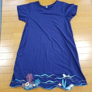 グラニフ(Design Tshirts Store graniph)の【お値下げしました】グラニフのワンピース(その他)
