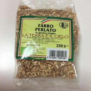 有機ファッロ小麦(スペルト小麦) ラ・テラ・エ・イル・チェロ ファッロペルラート(米/穀物)