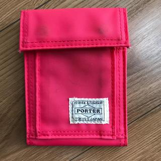 ポーター(PORTER)のPORTER ピンク 財布(財布)