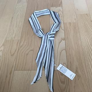 ジーユー(GU)のGU ジーユー ナロースカーフ ベルト 新品(バンダナ/スカーフ)