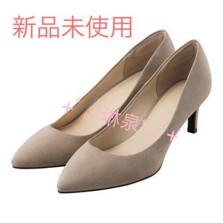ジーユー(GU)の新品未使用 GU マシュマロポインテッド パンプス ハイヒール 靴 ジュース (ハイヒール/パンプス)