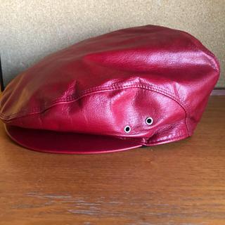 Vivienne Westwood - vivienne westwood  レザー ハンチング ベレー帽