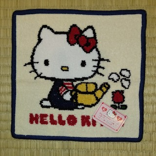 サンリオ - 新品☆キティちゃん☆シェニール織ハンカチ