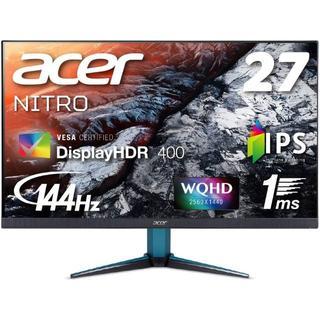 エイサー(Acer)のAcer ゲーミングモニター Nitro 27インチ WQHD VG271UPb(ディスプレイ)