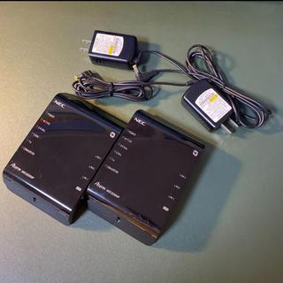 NEC - NEC Aterm WG1200HP 2台セット