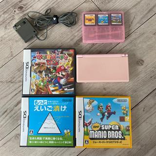 ニンテンドーDS - Nintendo DS Lite ピンク 本体+ソフト
