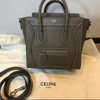 celine - CELINE セリーヌ ラゲージ スリ ナノバッグ ショルダーハンドバッグ