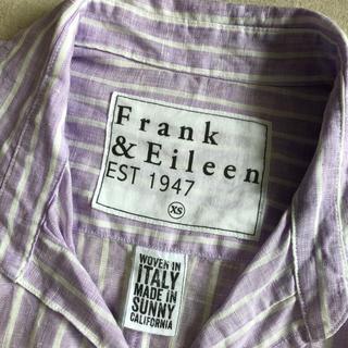 フランクアンドアイリーン(Frank&Eileen)のフランクアンドアイリーン  パープル リネン シャツ(シャツ/ブラウス(長袖/七分))