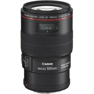 キヤノン(Canon)の【miiko様専用】EF100mm F2.8L マクロ IS USM×2本(レンズ(単焦点))