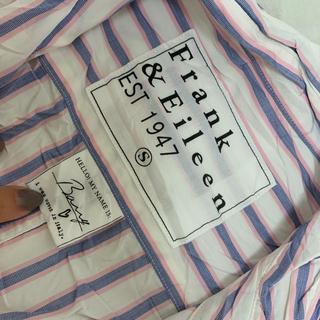 フランクアンドアイリーン(Frank&Eileen)の【新品未使用】Frank&Eileen ストライプシャツ(シャツ/ブラウス(長袖/七分))