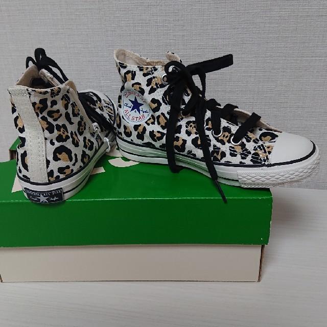 CONVERSE(コンバース)のCONVERSEキッズ アニマル柄✨新品18cm キッズ/ベビー/マタニティのキッズ靴/シューズ(15cm~)(スニーカー)の商品写真